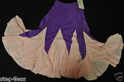 Nwt Adult size petite xsmall polyester MAMBO dance performance skirt item # 9222