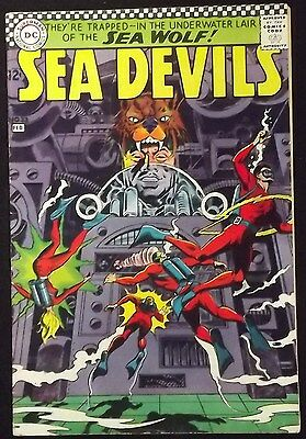 Sea Devils #33 Fn+ Grey Tone Cover