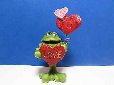 RUSS VALENTINES TOADILY TOAD / FROG - Love