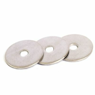 10 Pack M3 M4 M5 M6 M8 M10 M12 Stainless Penny Repair Washers Mudguard Washers
