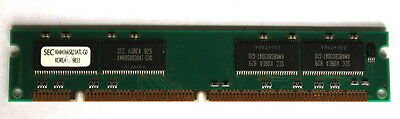 64MB LOW PROFILE SDRAM SEC KMM366S823ATL-G0 SUIT PC or ROUTER RAM MEMORY CHIPS!!