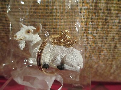 Goat  White   ~ Key Chain ~ Great Gift Item