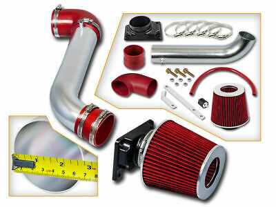 Red Cold Air Intake Induction Kit Filter fit 00-05 Mitsubishi Eclipse 2.4//3.0L
