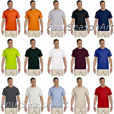 Gildan Mens Ultra Cotton T Shirt with Pocket Tee S M L XL 2XL 3XL 4XL 5XL 2300