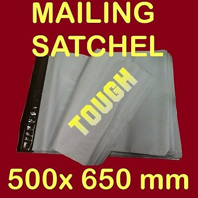 100 500X650mm post Poly Courier Bag Mailer Mailing Satchel