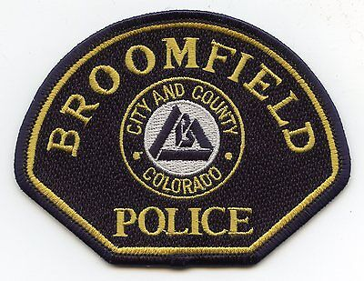 BROOMFIELD COLORADO CO City and County POLICE PATCH
