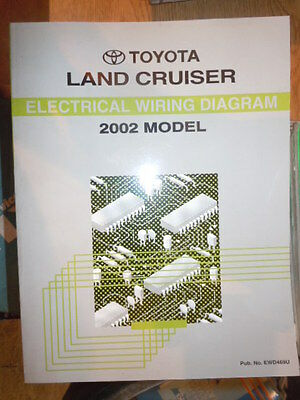 2002 toyota land cruiser electrical wiring diagram service manual (rx435)