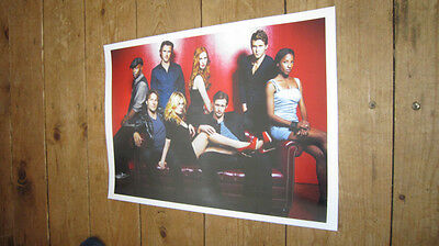 True Blood Great 2012 Cast red POSTER