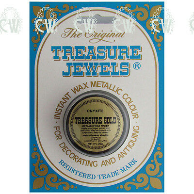 Treasure Jewels Metallic Gilding Wax 20gm ONYXITE. Rich Lustrous Gilding Wax