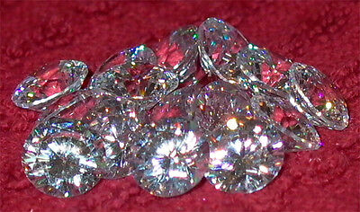 Cubic Zirconia * CZ * Jeweler & Artists Discount Lots Loose Brilliant Cut Rounds