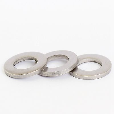 M1.6 M2 M2.5 M3 M4 M5 M6 M8 M10 M12 A2 Stainless Steel Flat Form A Washers