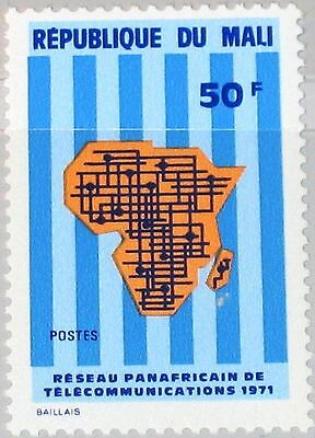 MALI 1971 285 161 Pan African Telecommunications Systems Kommunikation MNH