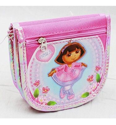 NWT Dora the Explorer String Strap Wallet Small Purse Pink- Dora the Ballarina