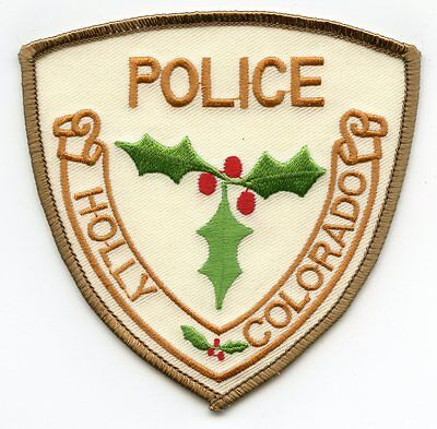 Holly Colorado Co Police Patch
