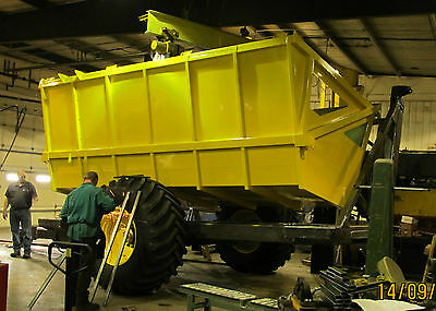 High Dump Cart Wagon Trailer Lift Box Largest and strongest made in USA