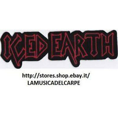 Toppa Termoadesiva Iced Earth Rock Metal  Patch New!!