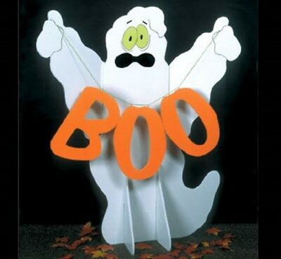 """**NEW** Halloween Lawn Art Holiday Decoration - """"Giant Ghost"""" - 59""""H x 50'W"""