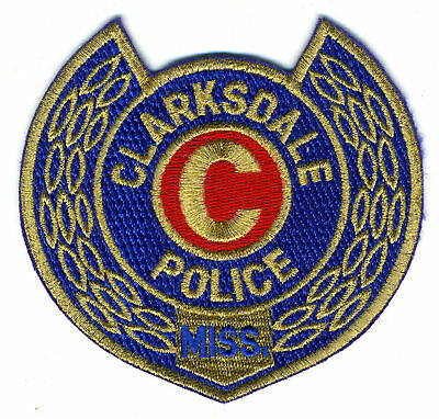 CLARKSDALE MISSISSIPPI MS The Big C POLICE PATCH