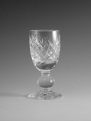 """WATERFORD Crystal - DONEGAL Cut - Liqueur Glass / Glasses - 3 1/4"""""""