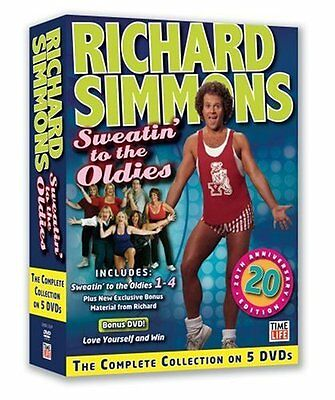 Richard Simmons The Complete Collection of Sweatin' to the Oldies 5 Workout DVD