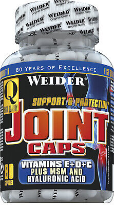 (261,06EUR/kg) Weider - Joint Caps 80 Kapseln Dose