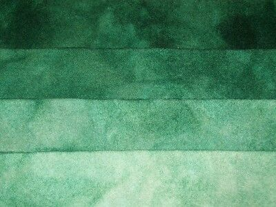 """Malachite"" -  hand dyed rug hooking wool fabric - (1) Fat Quarter 100% Wool"