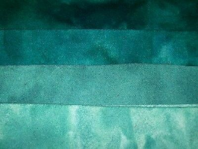 """""""Russian Amazonite"""" hand dyed rug hooking wool fabric  (1) Fat Quarter 100% Wool"""