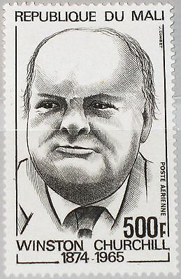 MALI 1974 429 C214 100 Birthday Winston Churchill Nobel Price Winner MNH