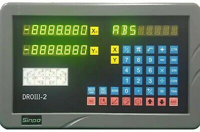 SINPO 2 axis digital readout kit for Lathe applications