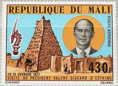 MALI 1977 569 C295 Visit President Valéry Giscard d´Estaing of France MNH