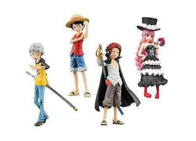 One Piece Half Age Figure  Promise of the straw hat P5 Set x 4
