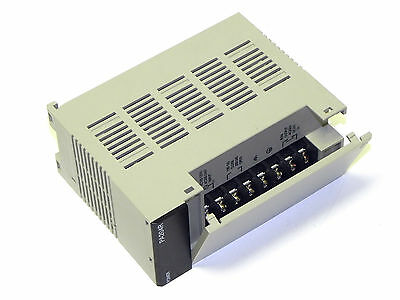 OMRON PA204R POWER SUPPLY UNIT, 100-120/200-240 VAC, RUN OUTPUT C200HW-PA204R