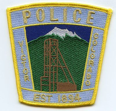 Victor Colorado Co Police Patch