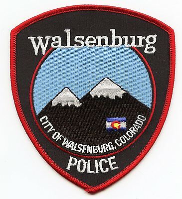 Walsenburg Colorado Co Police Patch