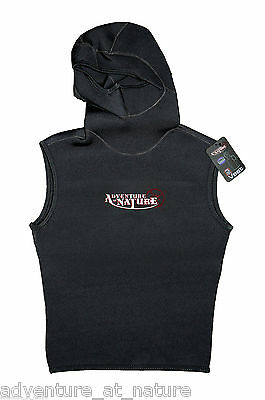 Adventure At Nature Hooded Wetsuit Vest 3mm Neoprene For Scuba Diving Size L
