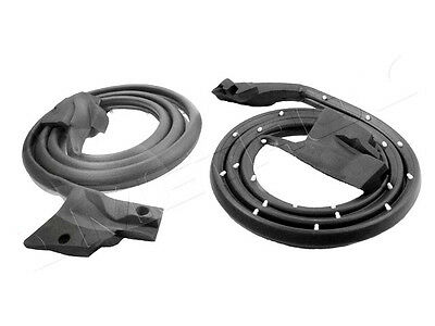 1978-1980 Pontiac Grand Prix 2 door new rubber door weatherstrip seals, pair