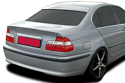 BMW E46 Saloon M Tech M-Tech Roof Extension Rear Window Cover Spoiler Wing Trim