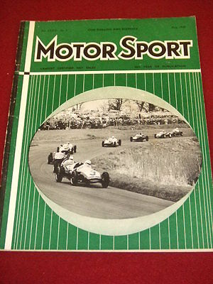 Motorsport - May 1960 Vol Xxxvi # 5
