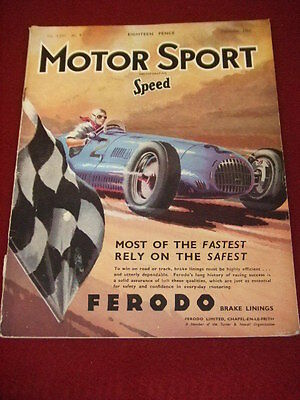 Motorsport - Sept 1950 Vol Xxvi # 9