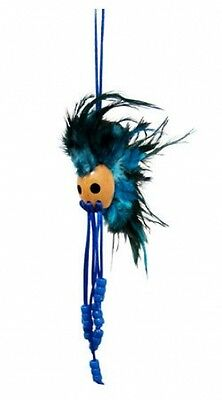 "Hawaii Ikaika Hawaiian Warrior Helmet Car Decor 1"" Kamani Nut / Blue ( QTY 2 )"