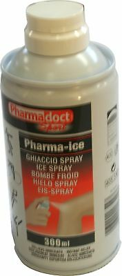 6 Bombolette da 300 ml Ghiaccio Spray PharmaDoct Sport