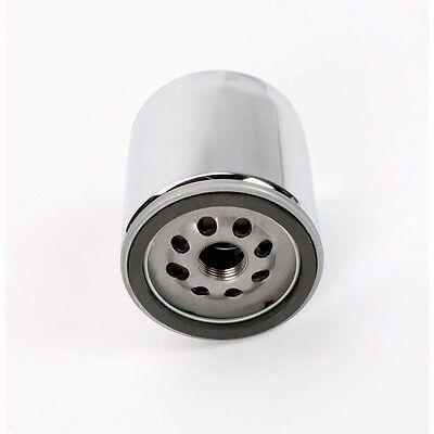 Chrome Magnetic Oil Filter With Nut For Harley-Davidson