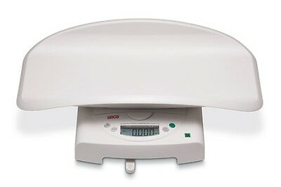 SECA 384 Electronic Baby Toddler Scale Digital Up To 20KG LCD Display White New
