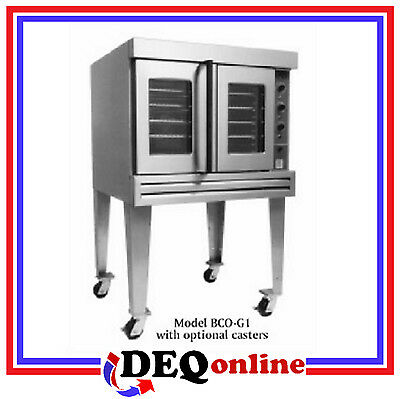 Bakers Pride BCO-G1 Commercial Single Deck Gas Convection Oven