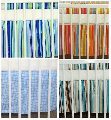 Nursery Baby Valance Sheet   2 Sizes   For Baby Cots / Cotbeds
