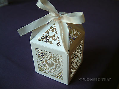 Wedding Favours - NEW Luxury Wedding Sweets Favour Boxes Table Decorations