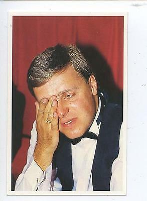 Scarce Trade Card of Mike Hallett, Snooker 1991 Series 2