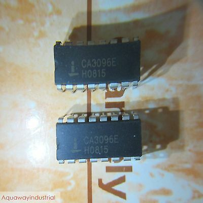 5x INTERSIL CA3096E DIP-16 TRANSISTOR ARRAY IC CHIPS FOR REPAIR