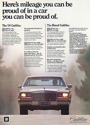 1981 Cadillac Fleetwood - Classic Vintage Advertisement Ad H18