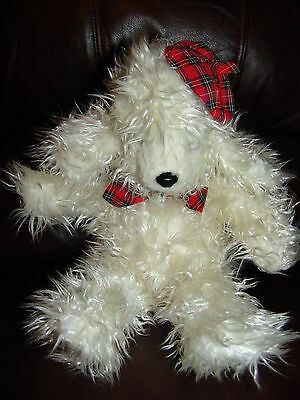 """Russ Berrie and Company Pierre the French Puppy Dog Plush Doll 16"""""""
